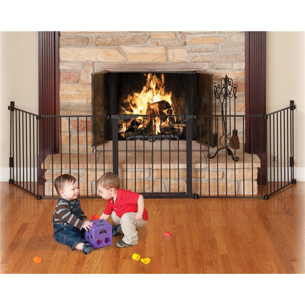 fireplace gate