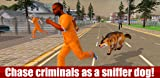 Police Dog Chase 3D: Crime City