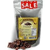 Pure Natural Miracles Raw Organic Cacao Nibs from the Best Cocoa Beans, 100% USDA Certified (Tamaño: 16 oz / 1 Pound)