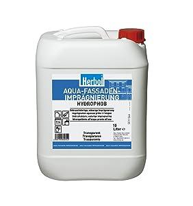 Herbol AquaFassaden Imprägnierung, 10 Liter  BaumarktKundenbewertung: