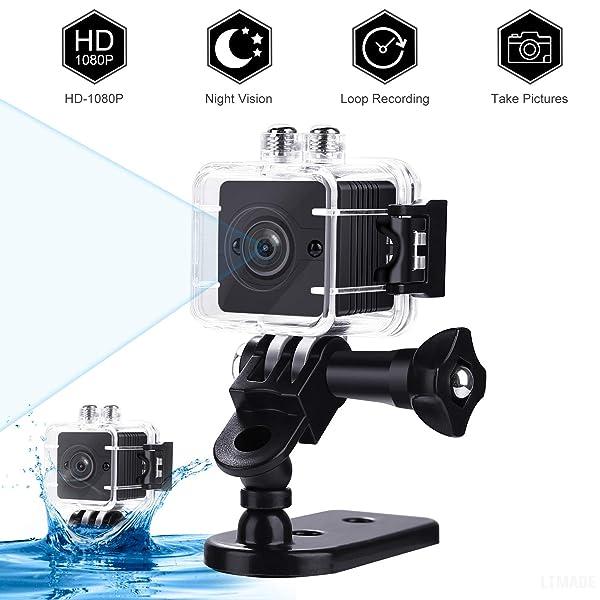 90 degree HD Wide angle Night Vision nanny waterproof spy hidden mini camera