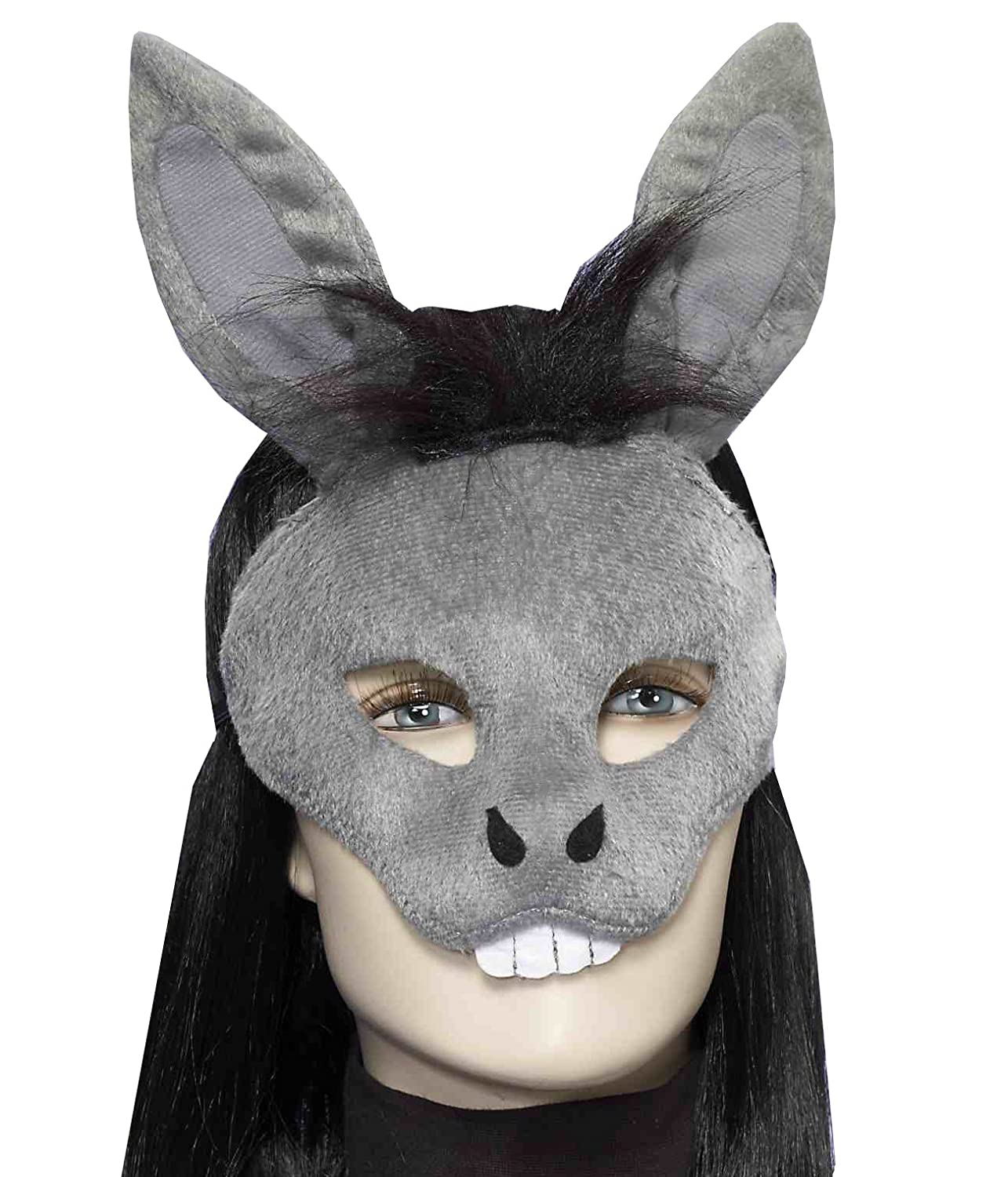 Pin donkey face mask template on pinterest for Donkey face mask template