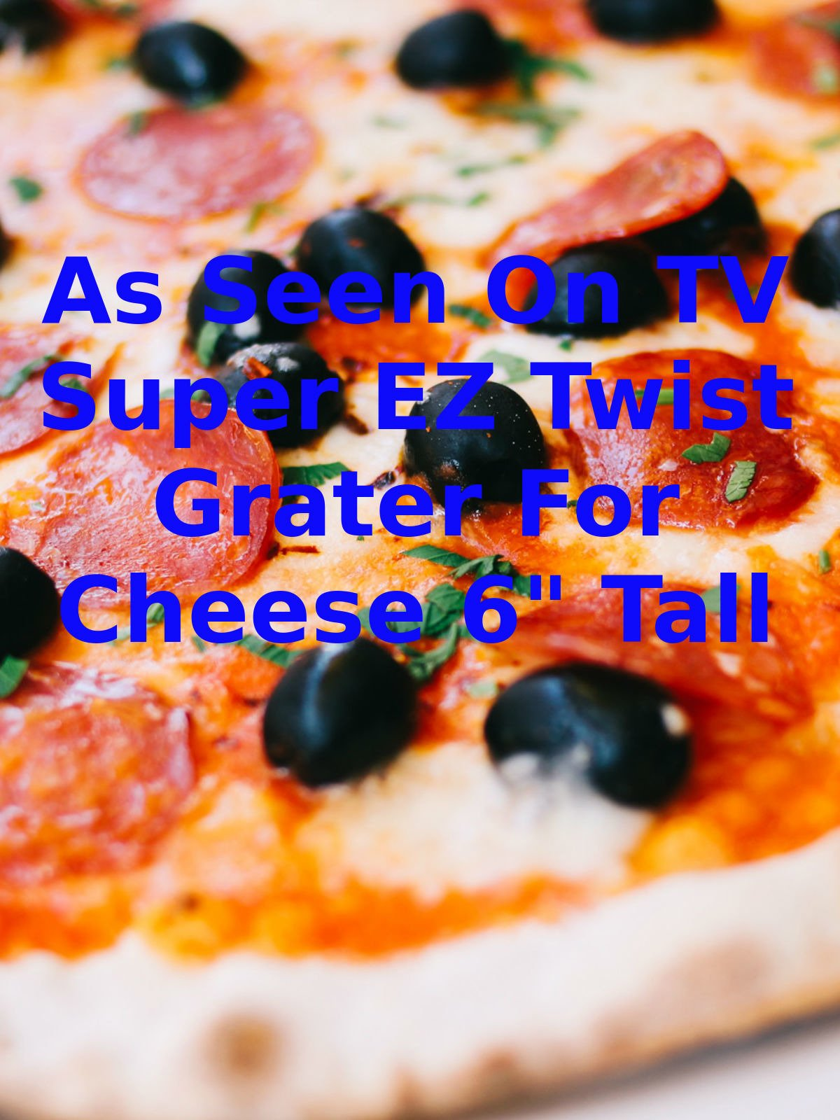 """Review: As Seen On TV Super EZ Twist Grater For Cheese 6"""" Tall on Amazon Prime Video UK"""