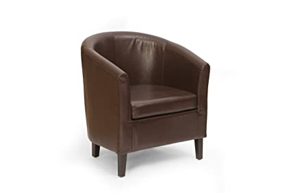 fauteuil cabriolet cuir marron