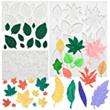 Funshowcase Assorted Leaf Fondant Silicone Mold 3-Count (Color: 2167 3-Count)