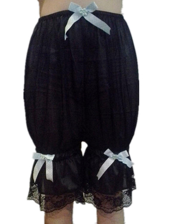 Frauen Handgefertigt Halb Slips UL2BBK4 Black Half Slips Nylon Women Pettipants Lace jetzt bestellen