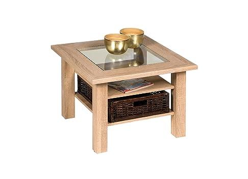'Alfa-tische M2472Steffi, 65x 65cm, tavolino rovere sonoma