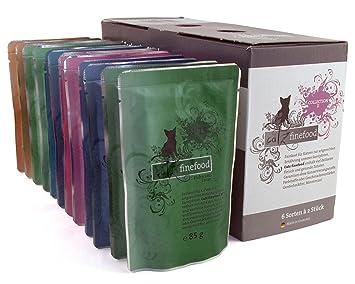 catz finefood katzenfutter multipack pouches 2 12 x 85g 1er pack 1 x kg. Black Bedroom Furniture Sets. Home Design Ideas