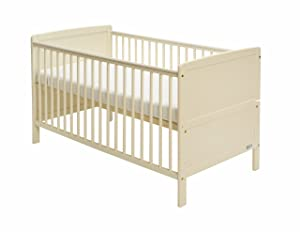 Baby Elegance Travis Cot Bed (Cream)       BabyCustomer review and more information