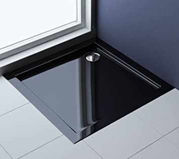 receveur de douche bac douche acrilique noir faro01b 100x100x4 bricolage 100x100x4. Black Bedroom Furniture Sets. Home Design Ideas