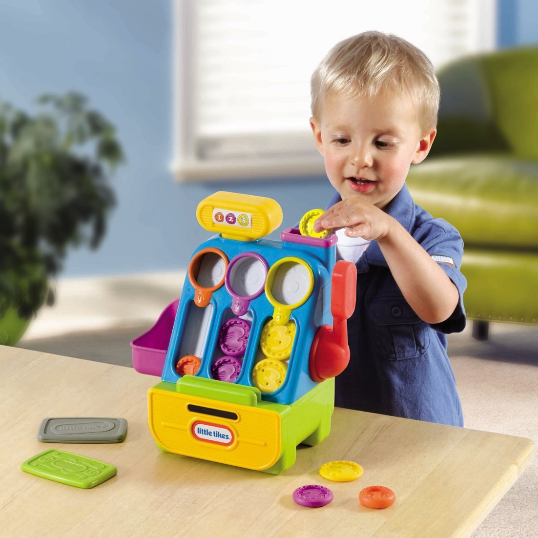 An Image of Little Tikes Count 'n Play Cash Register