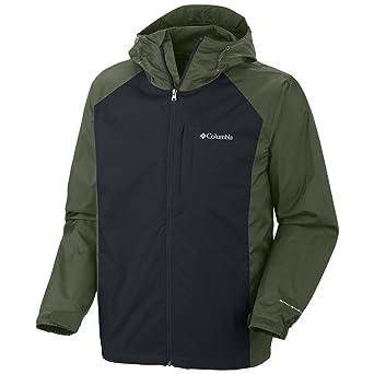 亚马逊美国_Columbia  Straight Line Rain Jacket 哥伦比亚男款Omni-shield防水外衣