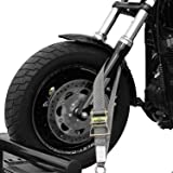 Tank Straps Motorcycle Tie Down Straps (2pk) - 10.000 lb Webbing Break Strength 2'' x 10' Super Heavy Duty Endless Tie Downs with Ratchet Strap (Color: Gray, Tamaño: 2 Inch)