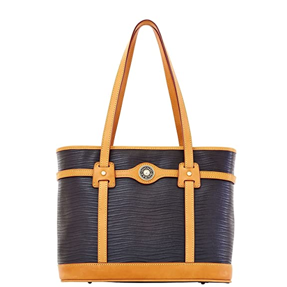 Dooney & Bourke wavy leather, black colour
