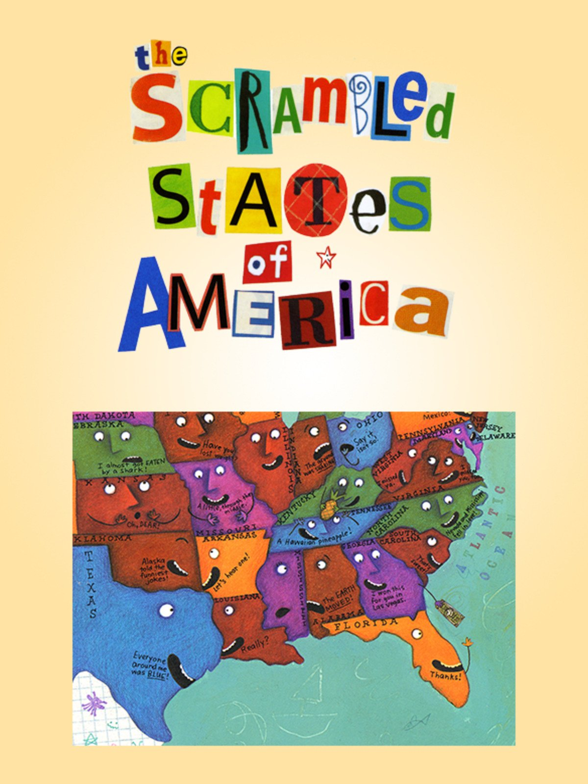 The Scrambled States of America on Amazon Prime Instant Video UK