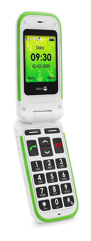 Comparer DORO PHONEEASY 410 BLANC