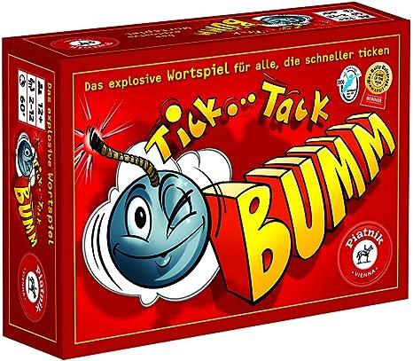 Piatnik - Jeu de société Tick Tack Boom - Langue : allemand