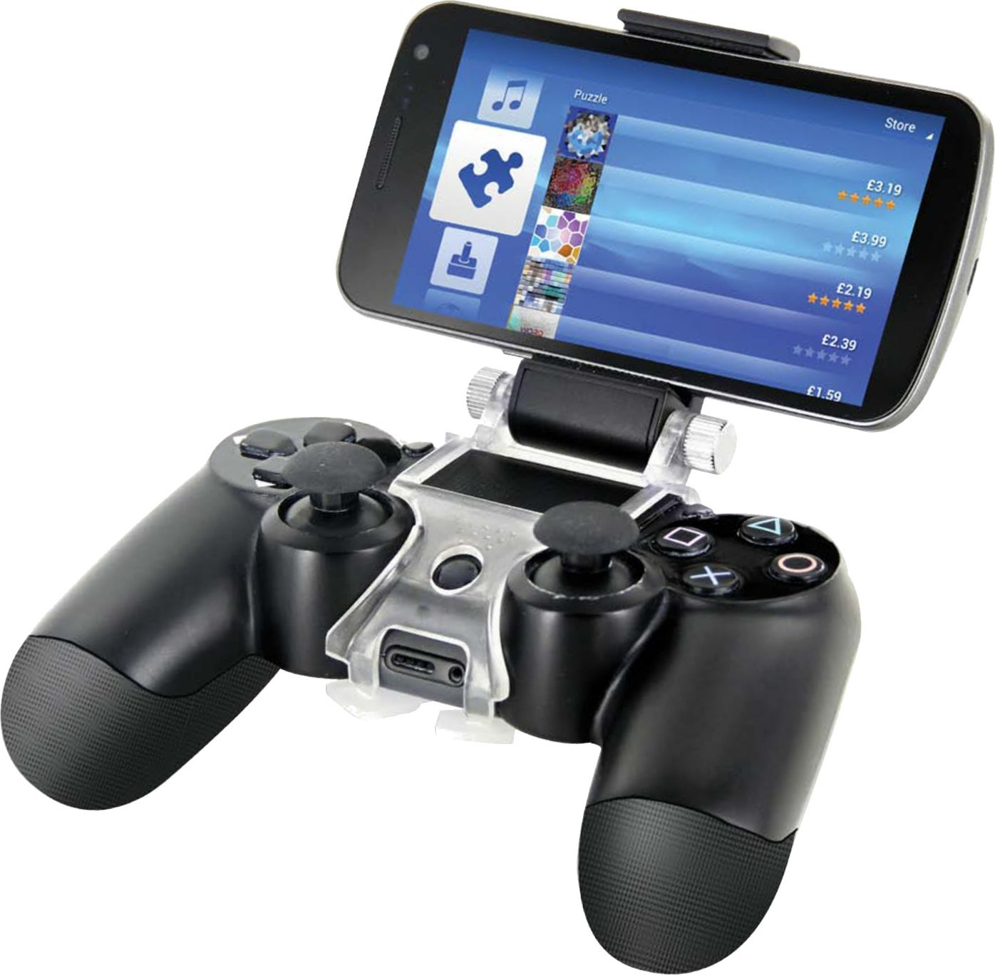 Attach Your Smartphone To Your Ps4 Controller