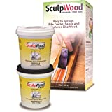 System Three Resins 1-Quart SculpWood Epoxy Paste Kit (Tamaño: 1 Quart)
