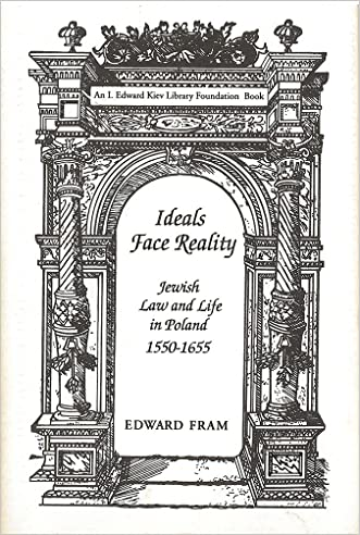 Ideals Face Reality: Jewish Law and Life in Poland, 1550-1655 (Monographs of the Hebrew Union College) written by Edward Fram