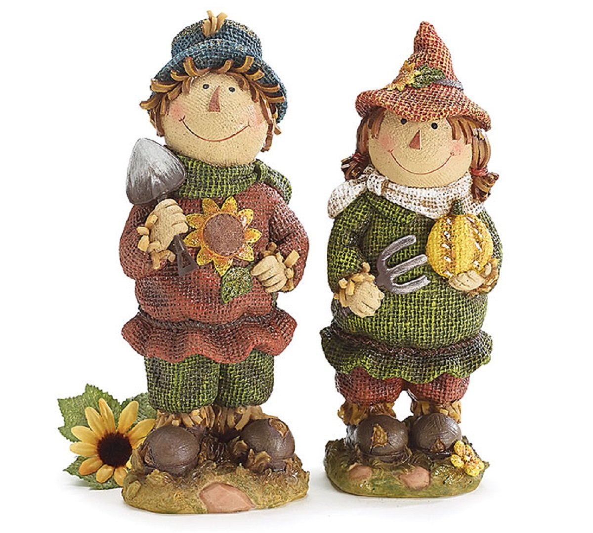 Home Decoration And Furnishing Articles Couple Characters: Thanksgiving Scarecrow Figurines