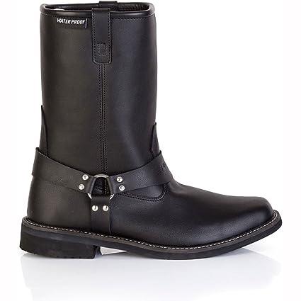 Nouveau Spada moto Hardtail WP bottes noir