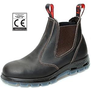 Redback USBBK Chelsea Boots mit Stahlkappe Black aus Australien  Schuhe & HandtaschenRezension