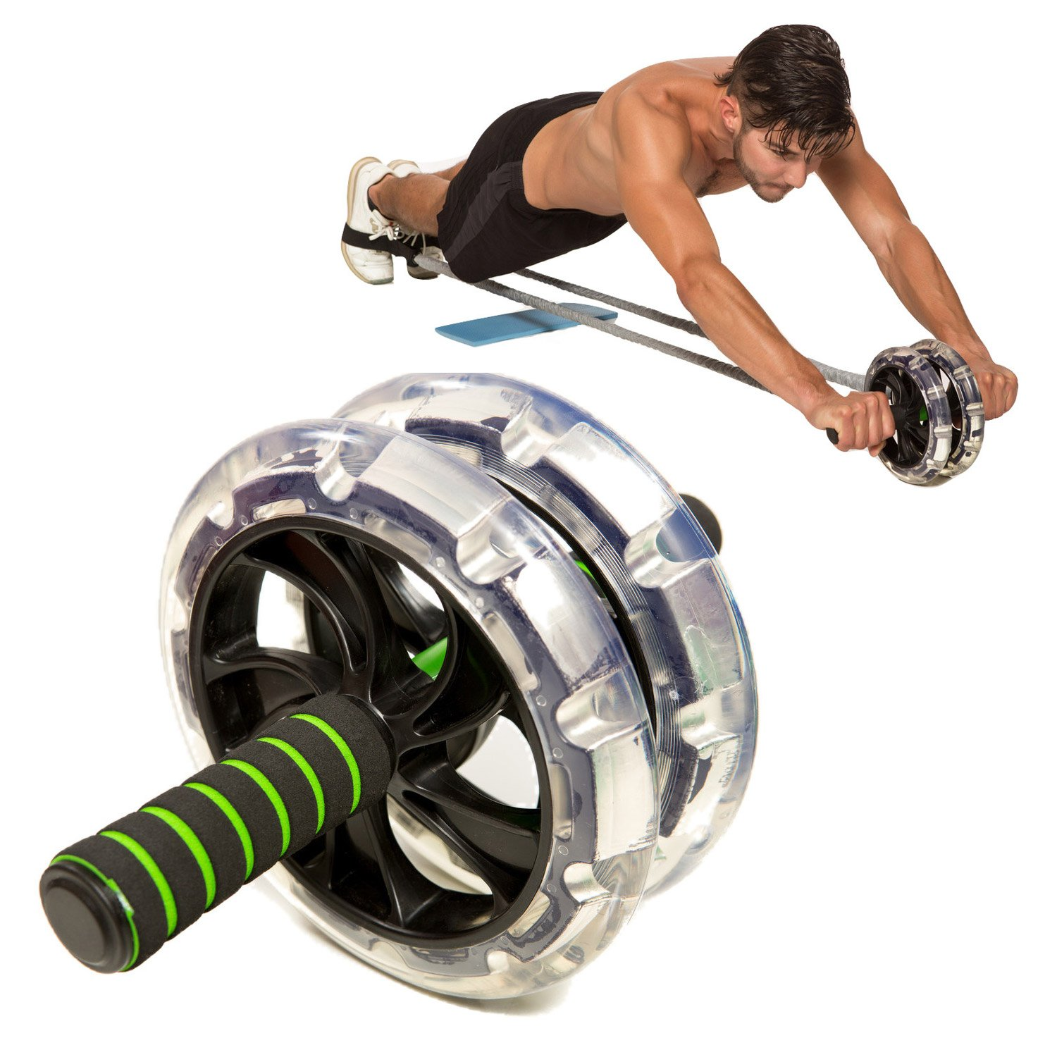 AB-WOW Pro Ab Roller Wheel Best Ab Machine Reviews