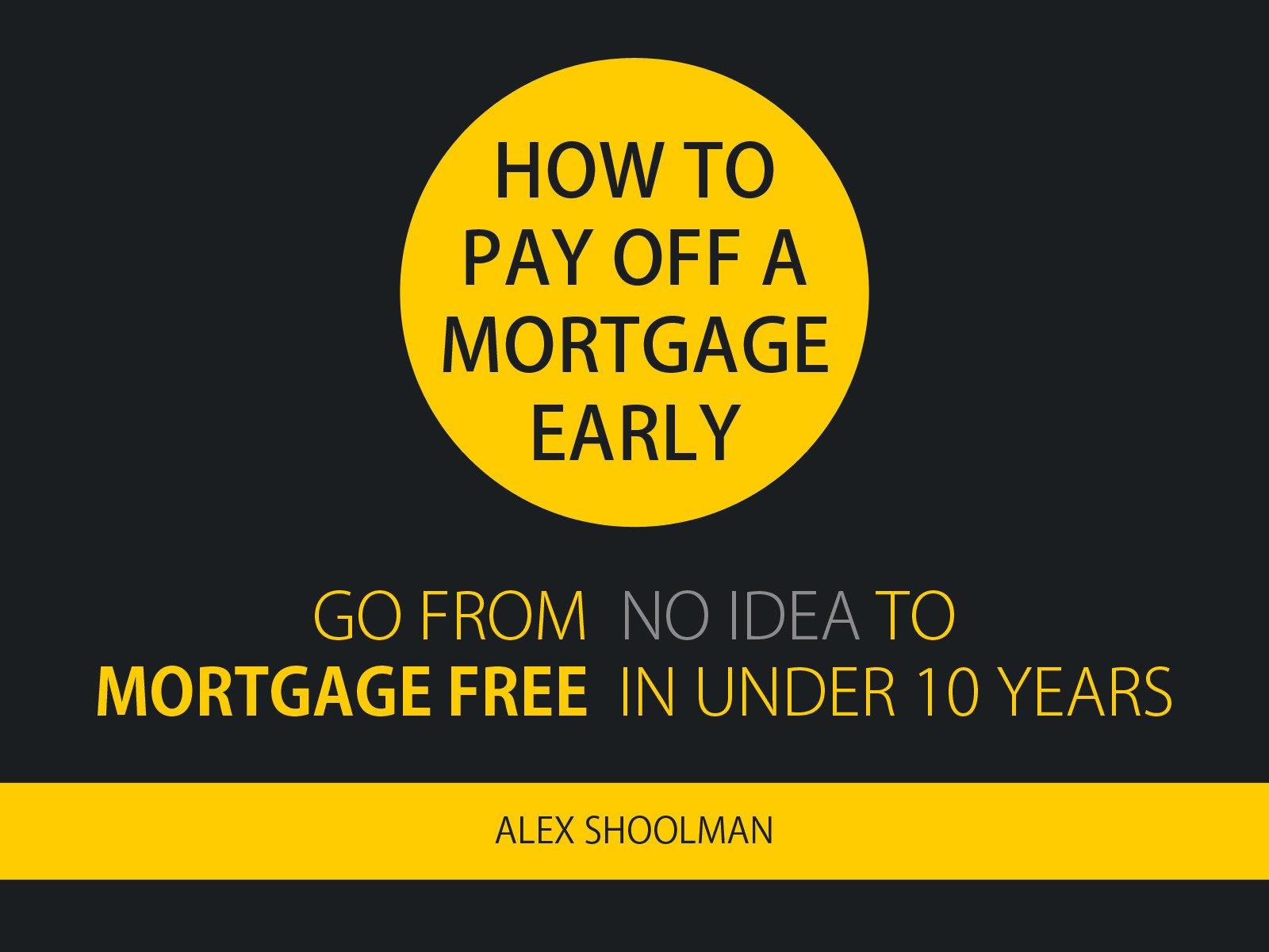 How To Pay Off A Mortgage Early