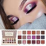 Oksale® 18 Colors Eye Shadow Makeup Pearl Metallic Eyeshadow Palette (B)