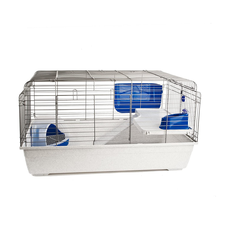 LITTLE FRIENDS Paris 100 Indoor Rabbit Cage with Accessories 99.5cm long x 57cm wide x 54cm high;height=