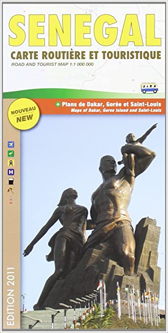 Senegal Road Map (Carte Routiere et Touristique)