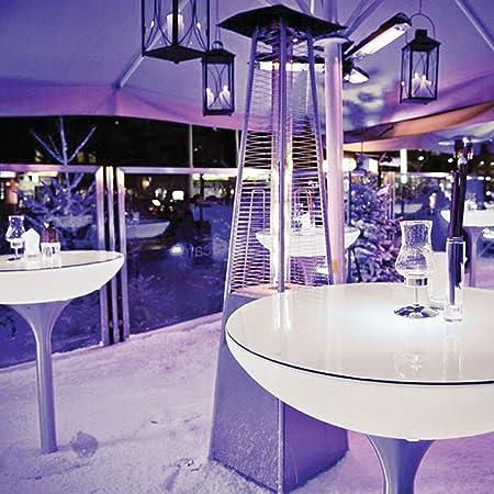 Lounge mesa de café mesa Tamaño: 105 cm H x 84 cm Ancho x 84 cm L
