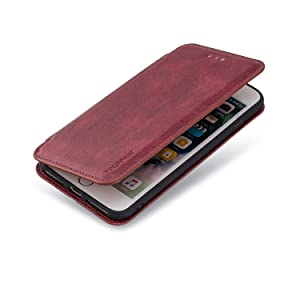 Flip Case for Samsung Galaxy A30 Leather Premium Business Card Holders Kickstand Wallet Cover with Free Waterproof-Bag (Color: Color4, Tamaño: Samsung Galaxy A30)