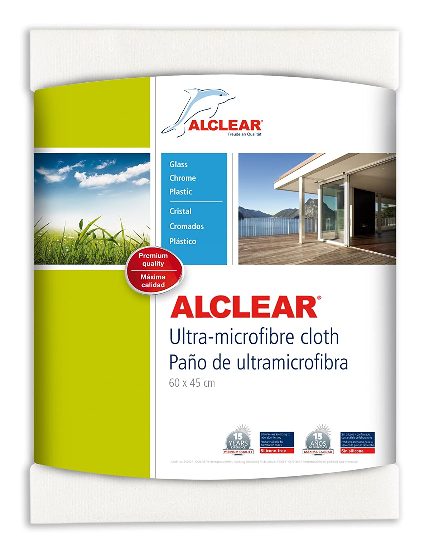 ALCLEAR Ultra-Microfaser Fenstertuch Scheibentuch