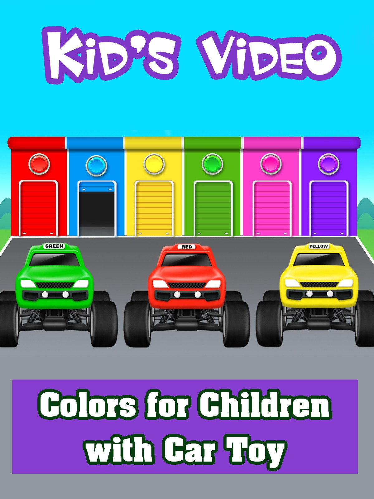 Colors for Children with Car Toy on Amazon Prime Instant Video UK