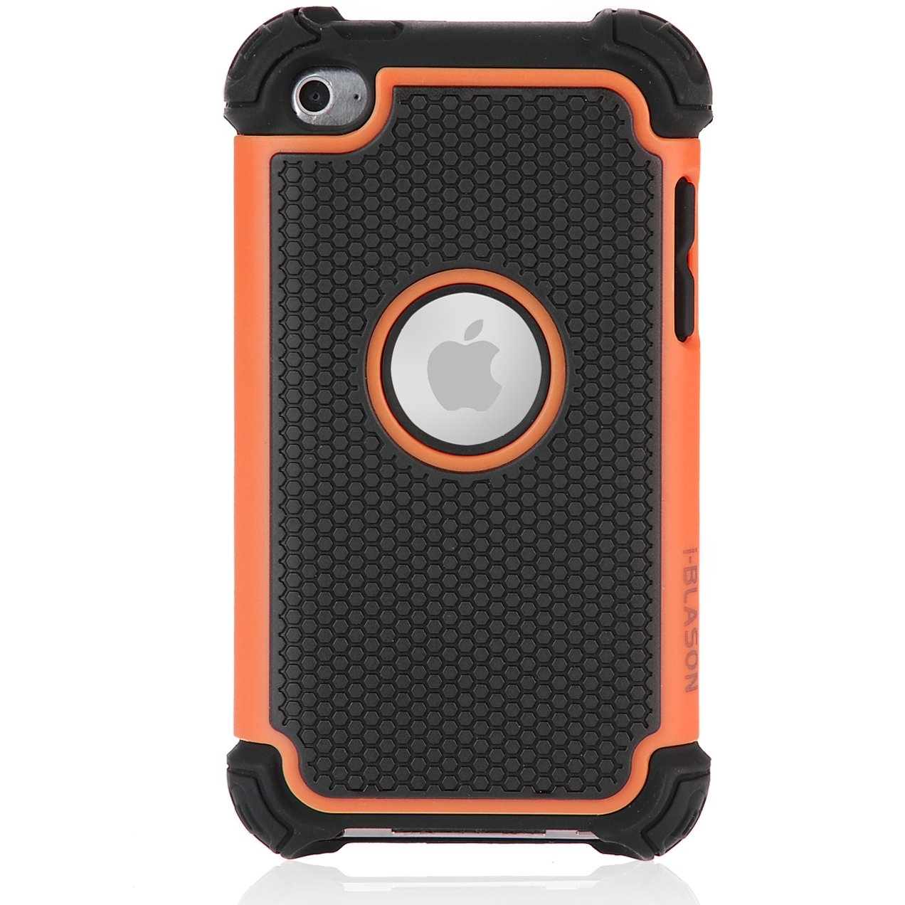 i-Blason Armadillo Series Two Layer Defender Silicone Case with Anti-Slip Hard Shell Outter Case for iTouch iPod Touch 4 4G