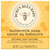 Burt's Bees Baby Buttermilk Soap, 100% Natural Baby Soap Bar, 3.5 Ounce Bar