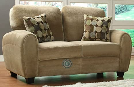 Rubin Love Seat Brown