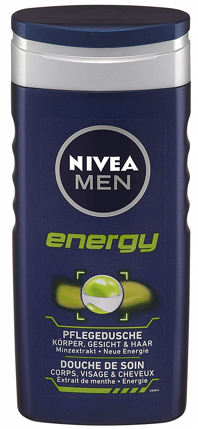 Nivea Men Pflegedusche Energy, 4er Pack