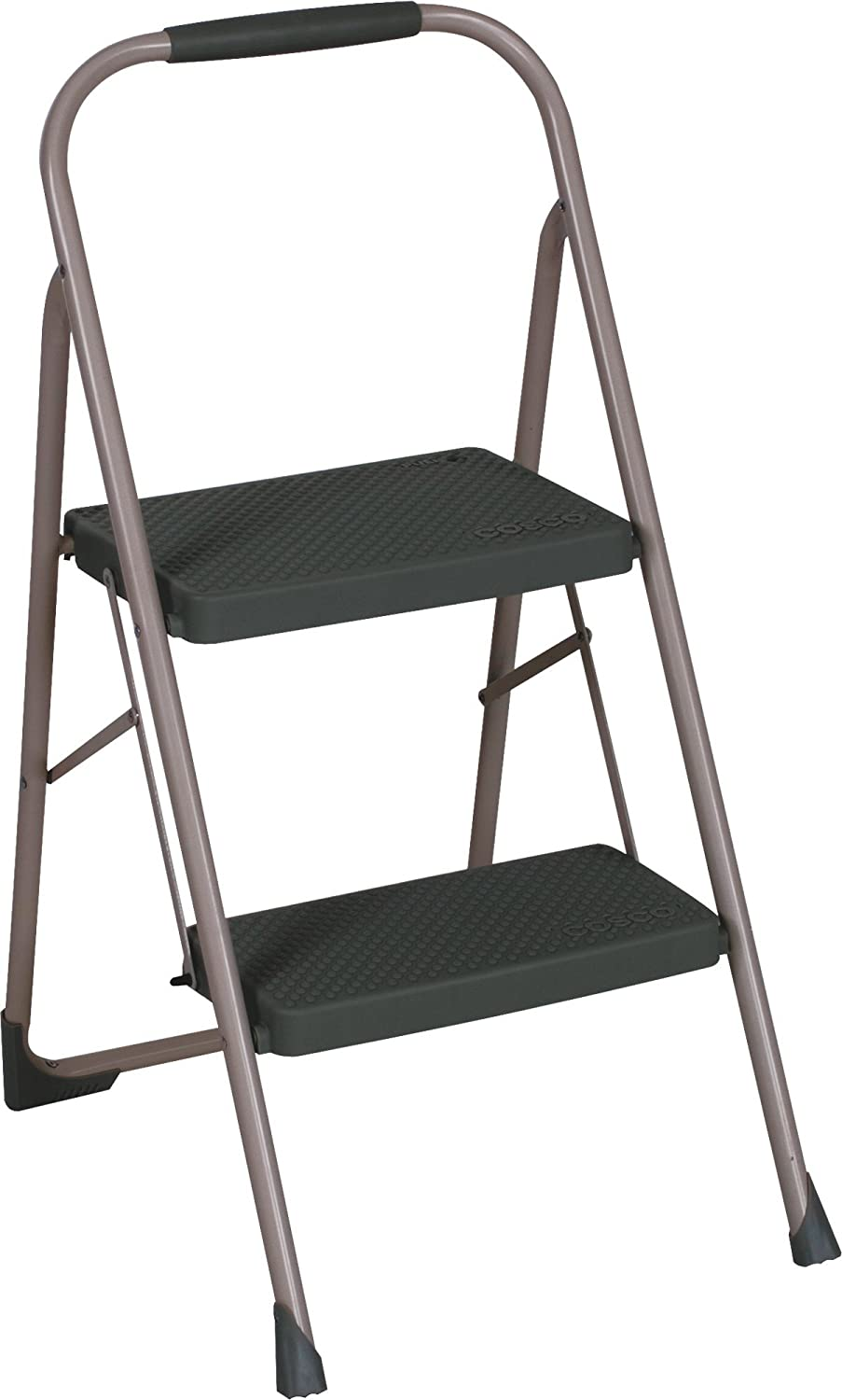 Cosco 11308PBL1E Two Step Big Step Folding Step Stool with Rubber Hand Grip at Sears.com