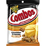 COMBOS Cheddar Cheese Pretzel Baked Snacks 6.3-Ounce Bag (Pack of 12) (Tamaño: 6.3-Ounce Bag - Pack 12)