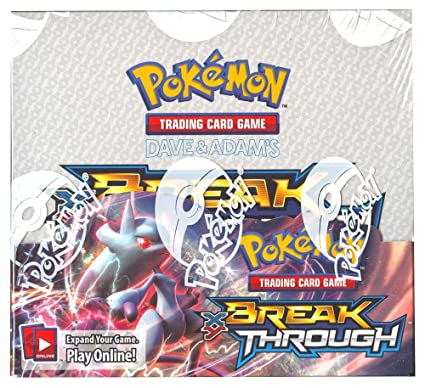 "Pokemon XY8 ""Break Through"" Boite De 36 Boosters = 360 Cartes pour Pokemon TCG (Anglais)"