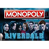 Monopoly Riverdale Board Game | Official Riverdale Merchandise | Based on The Popular CW Show Riverdale | A Great Riverdale Gift for Show Fans (Color: Original Version)