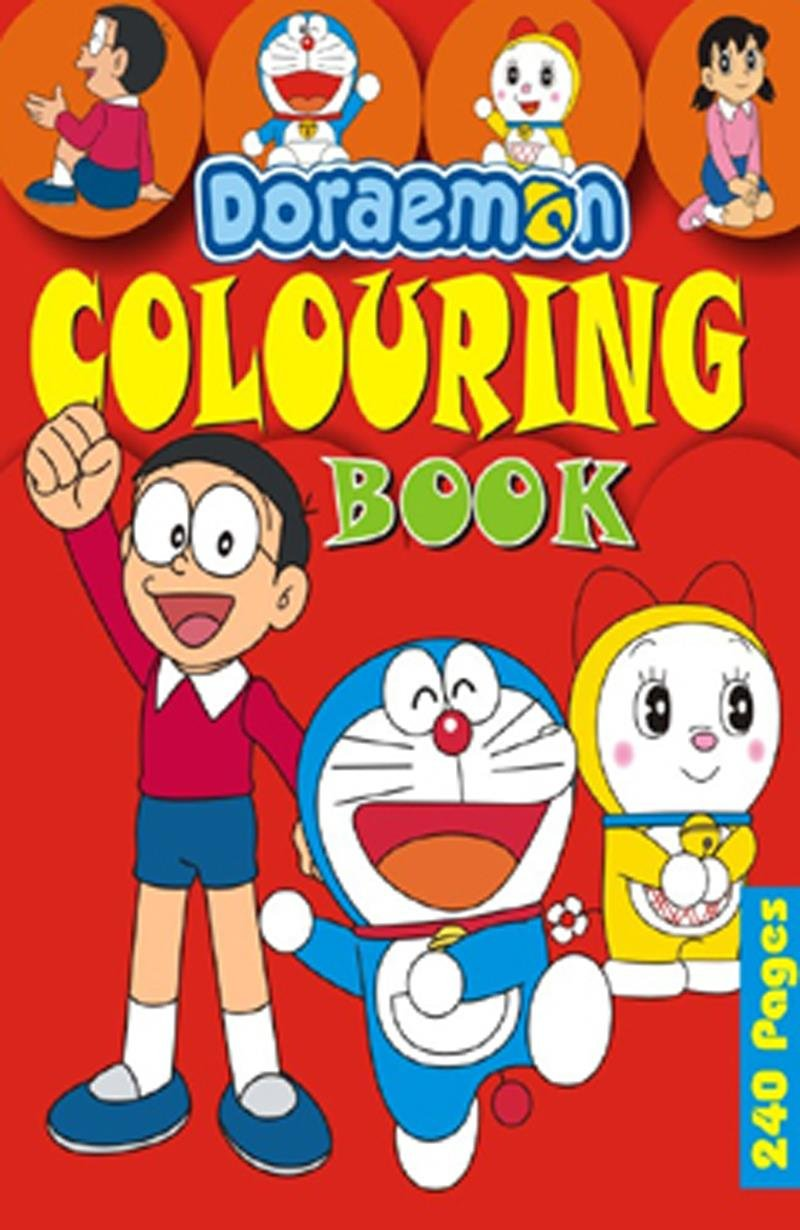 Doraemon coloring games online - Buy Doraemon Colouring Book Red Book Online At Low Prices In India Doraemon Colouring Book Red Reviews Ratings Amazon In