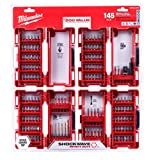 Milwaukee Shockwave Impact Duty Driver Bit Set (145-Piece)