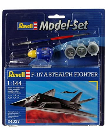 Revell - Maquette - Modèle F-117 Stealth Fighter - Echelle 1:144