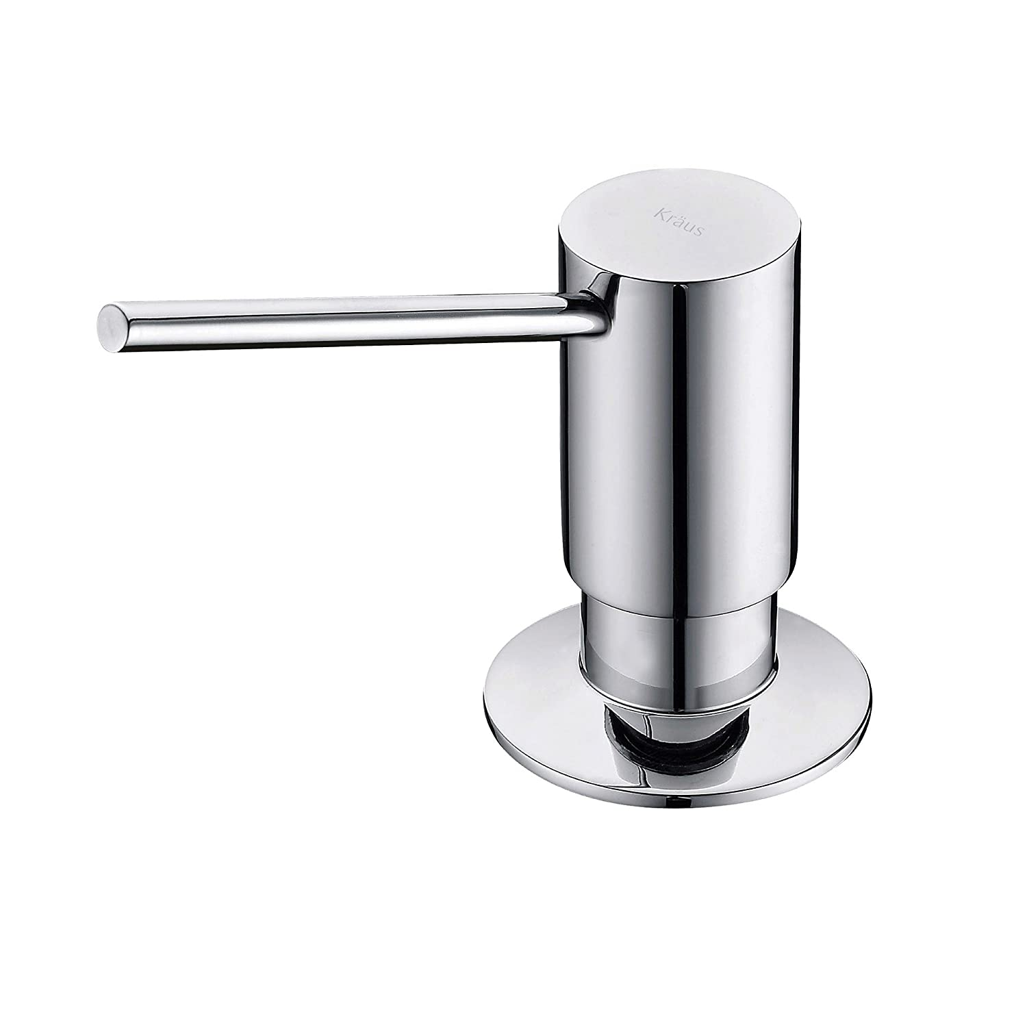 Kraus KSD-41CH Modern Soap Dispenser, Chrome