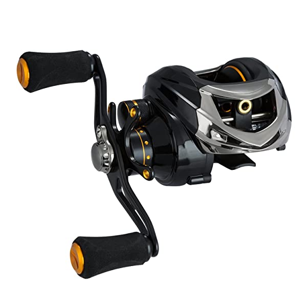 Piscifun Low Profile Baitcasting Fishing Reel 13 + 1 Shielded Bearings Baitcaster Tuned Magnetic Brake System Baitcast Reel