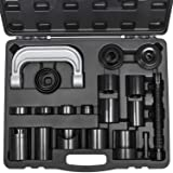 Yoursme Universal Master Ball Joint Press U-Joint Puller Removal Service Adapter Set Auto Install Remove Tool Kit 21PCS (Tamaño: 21 PCS)